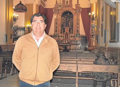 Juan Luis Mármol, nuevo hermano mayor. / M.M.