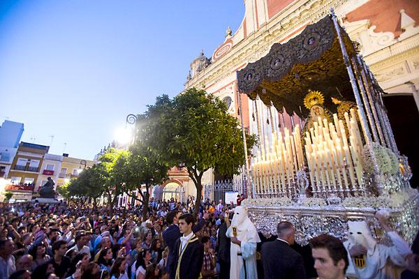 Hermandad de Pasión. / Foto: Carlos Hernández