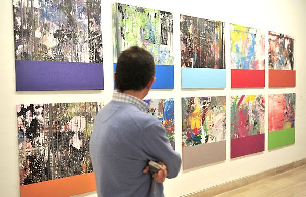 La Fundación Unicaja ha inaugurado este martes en Sevilla la exposición 'From Drawings & Sequences', del artista Santiago Picatoste / E.P.