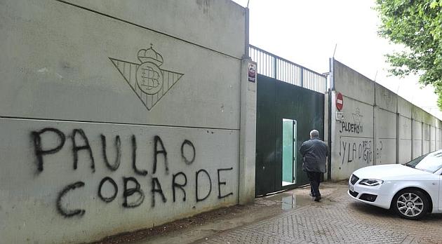 Así estaba la ciudad deportiva esta mañana / Foto: Kiko Hurtado (Marca)