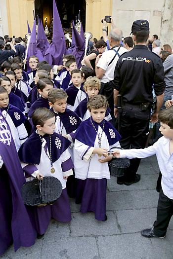 Hermandad de La Quinta Angustia. / Foto: José Luis Montero