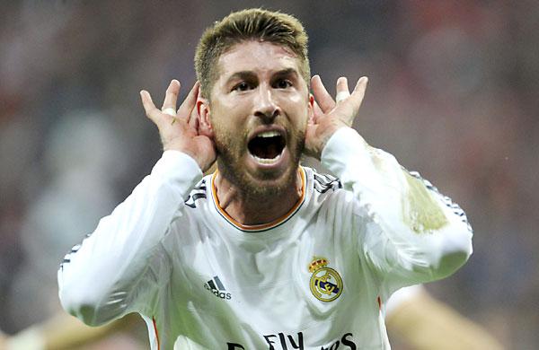 Sergio Ramos marcó dos goles. / EFE