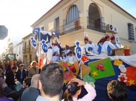 reyes 2014 - cabalgata casariche
