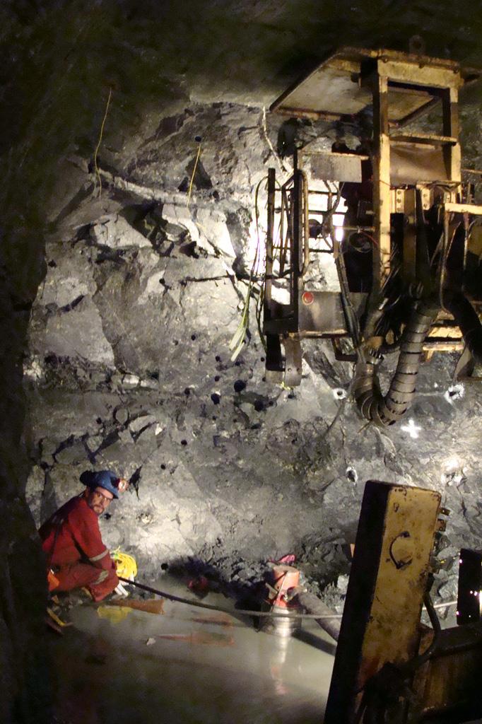 Yacimiento minero de El Toqui, en Chile, que explota Nyrstar. / EL CORREO