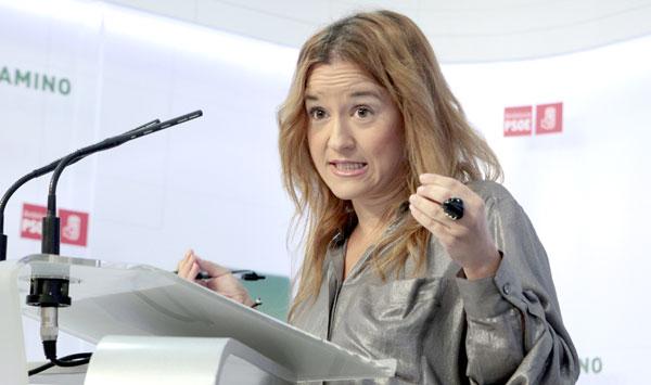 Verónica Pérez, secretaria general del PSOE de Sevilla. / EFE