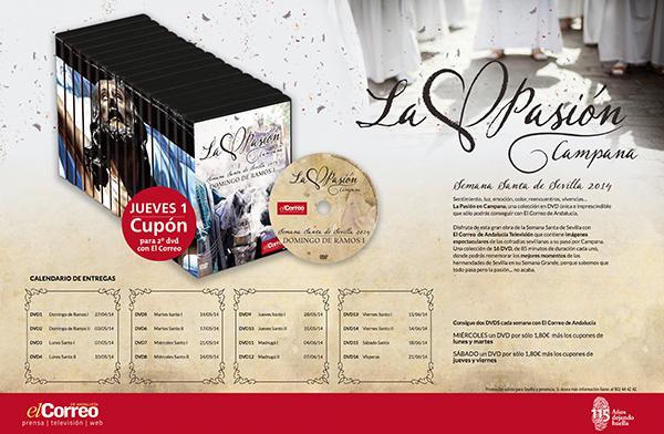 web - Doble DVD Coleccion Semana Santa - jueves 1