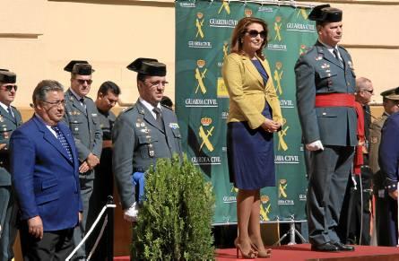 Crespo y Ceña presidieron un acto al que acudieron autoridades como el alcalde, JuanIgnacio Zoido