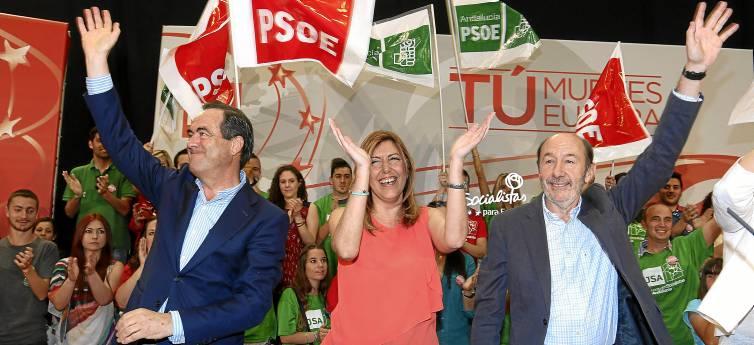 RUBALCABA ASISTE A ACTO PSOE EN ALMERÍA