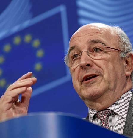 El comisario de Competencia, Joaquín Almunia, en una imagen de archivo. / EFE