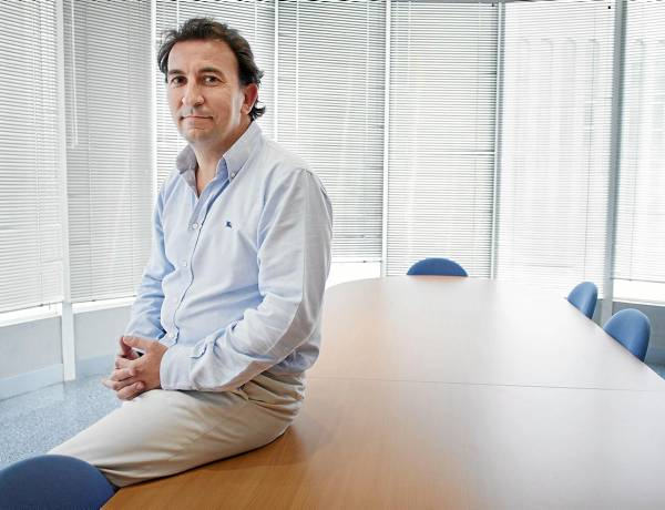 José Miguel López Catalán, en las oficinas de su empresa, Genera / Pepo Herrera