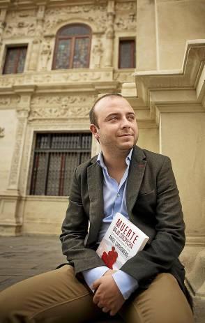 Ángel Carromero, ayer en la Feria del Libro de Sevilla. / Pepo Herrera