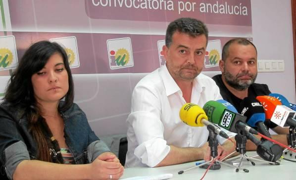 El coordinador regional de IULV-CA, Antonio Maíllo.