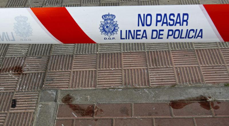 Vivienda de la barriada de Los Montecillos en Dos Hermanas (Sevilla), donde un niño de seis años ha fallecido en un incendio.