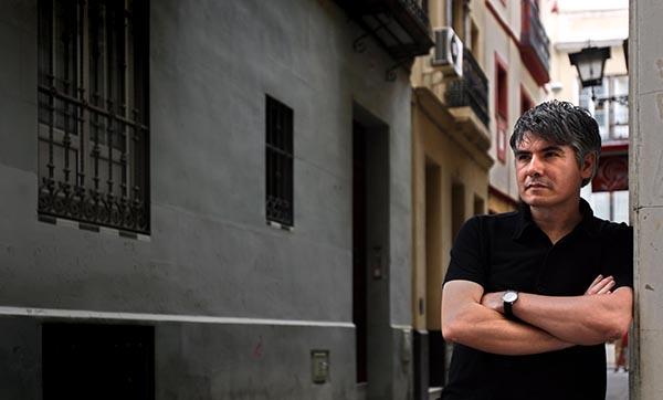 Juan Bonilla, un escritor en un momento especialmente dulce de su trayectoria.