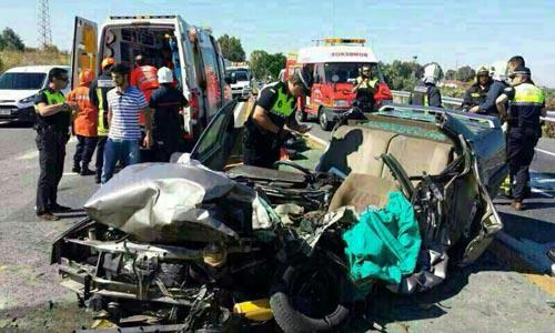 Accidente muertos Los Palacios