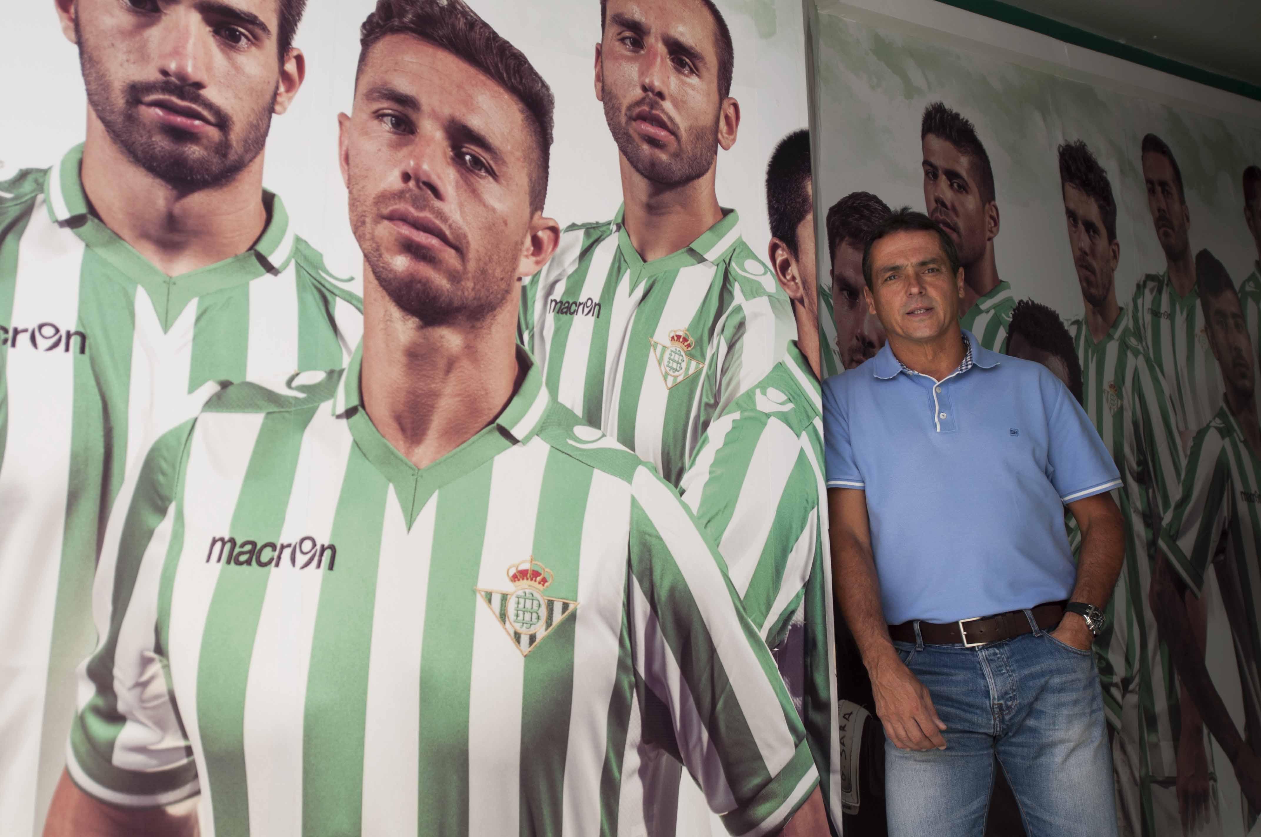 Sevilla 24 05 2014: Secretario Tecnico Alexis Trujillo.  FOTO:J.M.PAIS