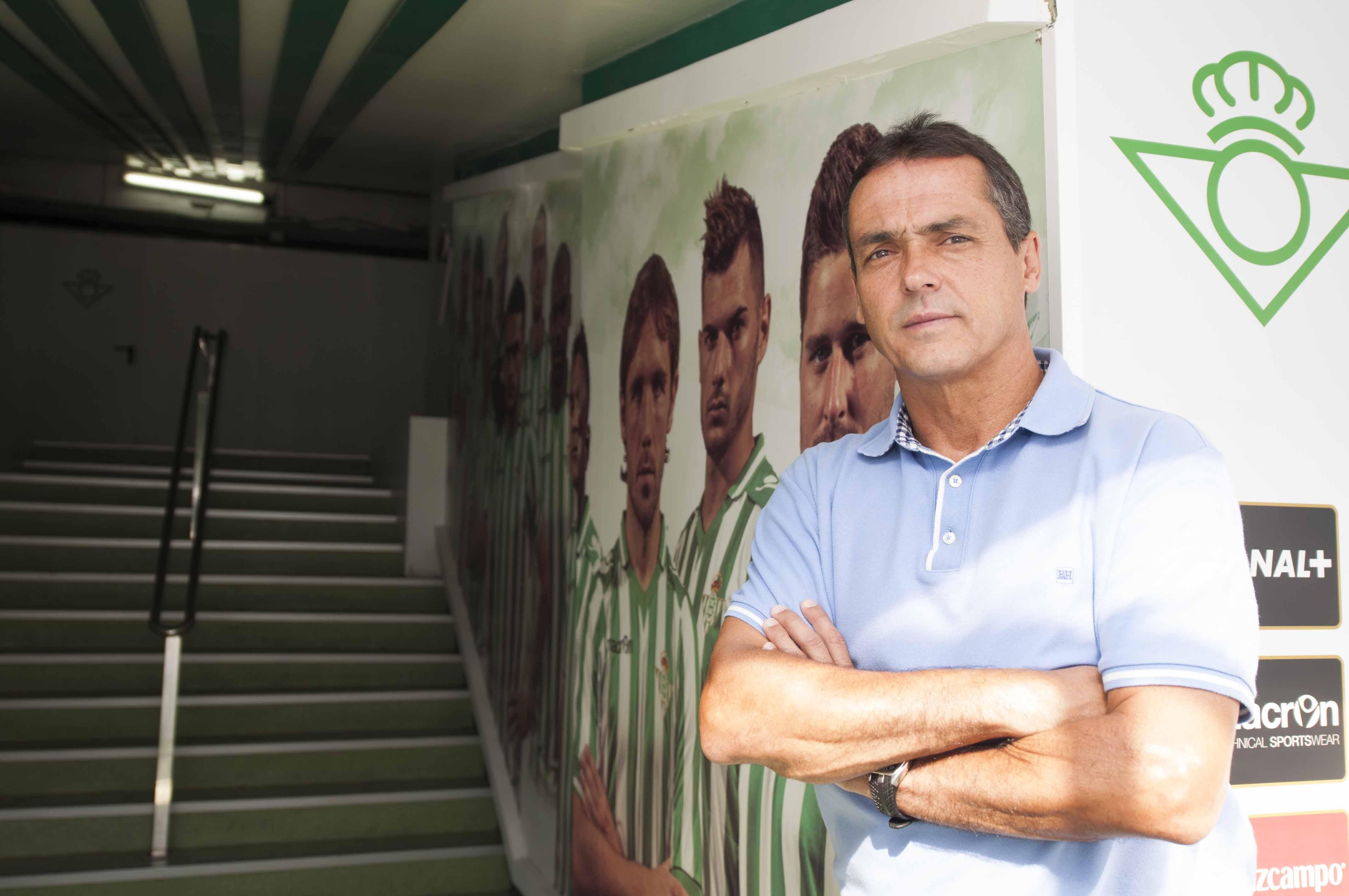 Sevilla 24 05 2014: Secretario Tecnico Alexis Trujillo.FOTO:J.M.PAIS