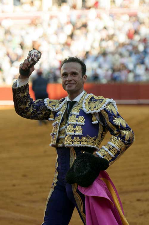 Antonio Ferrera. Décimocuarta de abono en la Maestranza. Foto: J.M. Paisano