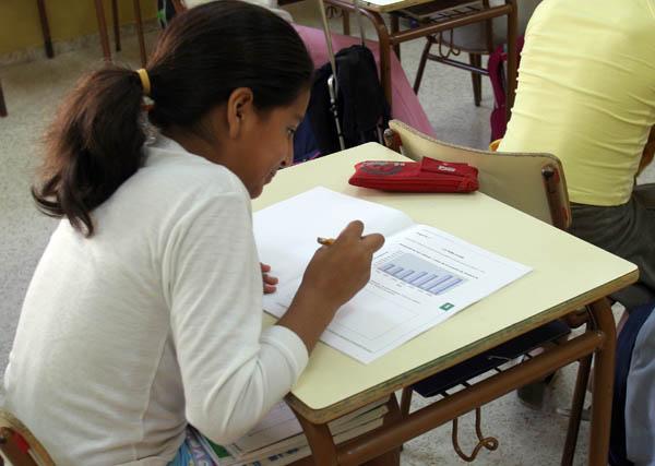 Las pruebas Escala evalúan el sistema educativo en niños de 7 años. / Javier Díaz