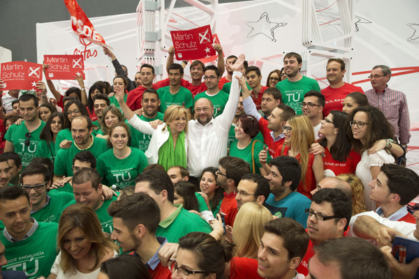 ACTO PSOE EN MÁLAGA