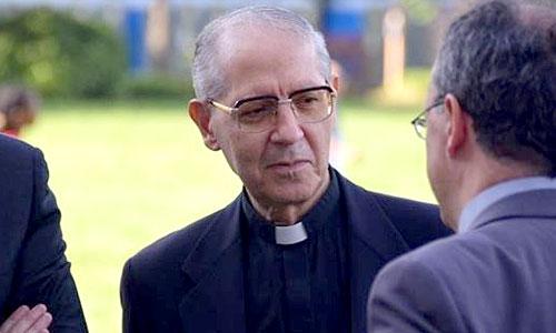 El superior general de los Jesuitas, el español Adolfo Nicolás Pachón