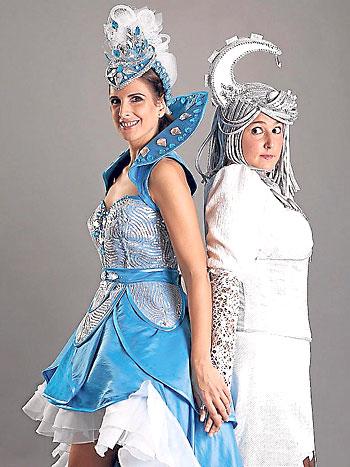 Nuria Fergó (a la izquierda), protagoniza este espectáculo infantil. / El Correo