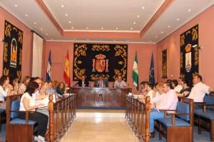 Alcalá celebró este jueves su pleno ordinario de mayo. Foto: El Correo