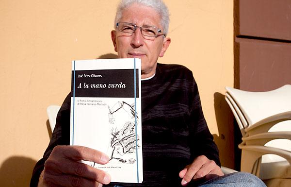 José Pérez Olivares, ganador del último premio Hermanos Machado de Poesía. / Luis Serrano