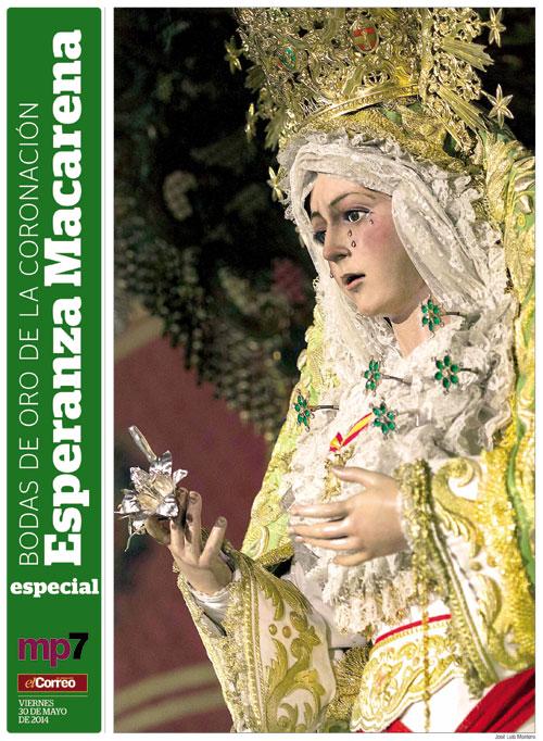Portada del suplemento especial por el 50 Aniversario de la Coronación de la Esperanza Macarena.