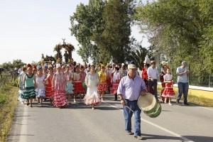 Romería en honor a San Isidro Labrador Los Palacios y Vfranca (1)