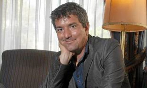Santiago Roncagliolo regresó a Sevilla para presentar su última novela. / Foto: J.M. Paisano