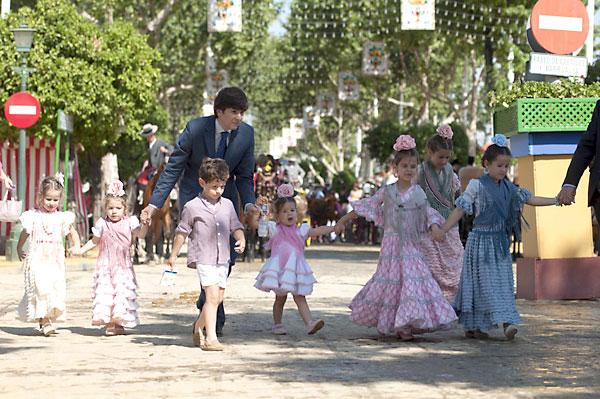 Ambiente del viernes de Feria. / Foto: J.M.Paisano