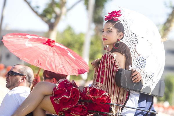 Ambiente del viernes de Feria. / Foto: Carlos Hernández