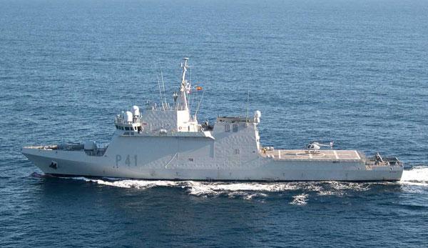 Buque de Acción Marítima 'Meteoro', de la Armada.
