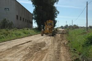 Caminos rurales que serán objeto de la intervención municipal. FOTO: A. Romero
