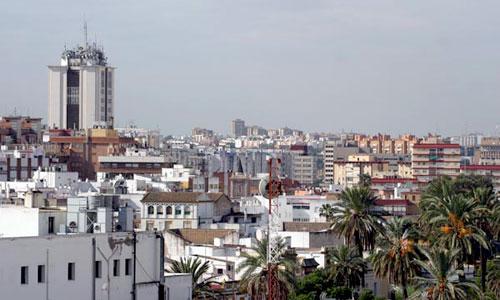 Los juzgados sevillanos se encargan de subastar las viviendas sobre las que se ha iniciado un proceso de embargo. / Foto: Antonio Acedo