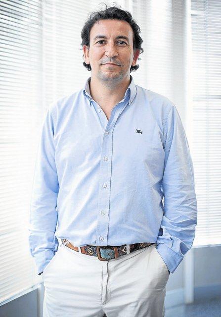 José Miguel López Catalán, en la sede de Genera / Pepo Herrera