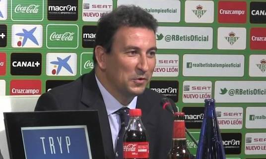 José Miguel López Catalán, un futurible para el consejo de administración del Betis.