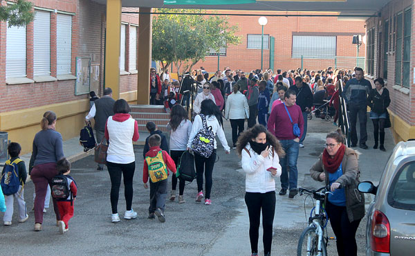 Los colegios de la provincia están entre los principales beneficiarios de las obras del Plan Supera. / El Correo