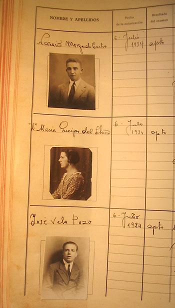 La hija del general Queipo de Llano fue una de las nuevas conductoras. / El Correo