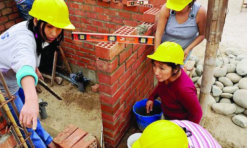 CONTINÚA RECONSTRUCCIÓN TRAS TERREMOTO DE 2007 EN PERÚ CON AYUDA ANDALUZA