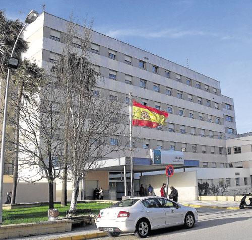 Hospital Punta Europa de Algeciras. / Foto: El Correo