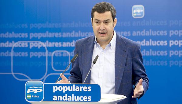 Juan Manuel Moreno Bonilla. / EFE