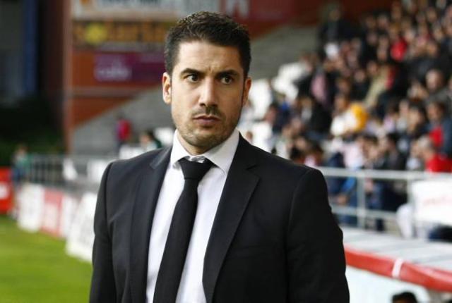 Julio Velázquez, entrenador del Murcia / La Verdad