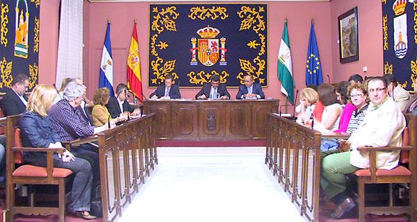 Pleno del ayuntamiento de Alcalá de Guadaíra.