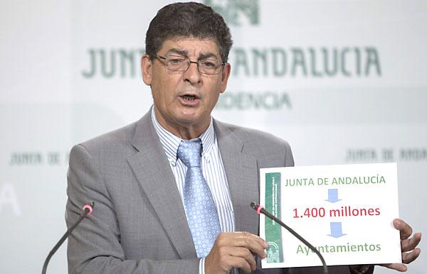 Diego Valderas, este martes. / José Manuel Vidal /EFE