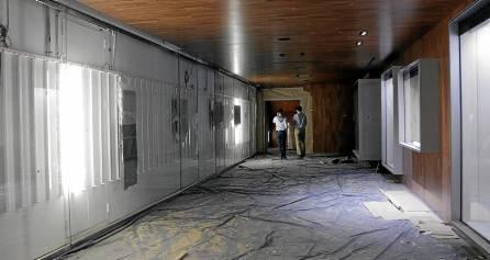 Las obras comenzaron en 2012 y la inauguración está prevista para este verano. / José Luis Montero