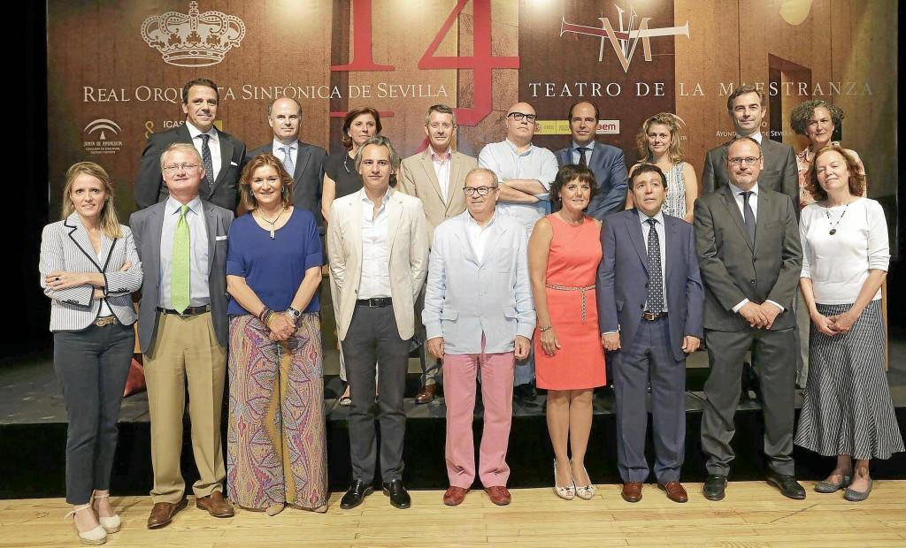 PRESENTACION TEMPORADA 2014/15 MAESTRANZA Y LA ROSS