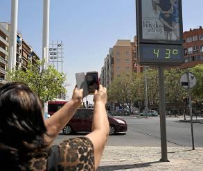 Sevilla 13/06/2014 CALOR en Sevilla<br />  FOTO: Pepo Herrera