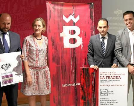 Los concejales CurroPérez, María delMar Sánchez Estrella, RafaelBelmonte yCristóbal Ortega. / El Correo